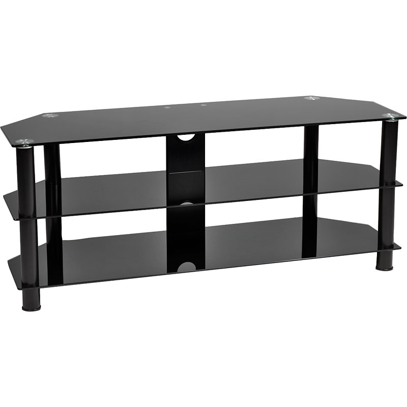 "TechPro TV Stand for TVs up to 50"" - Black - PAG3120B"