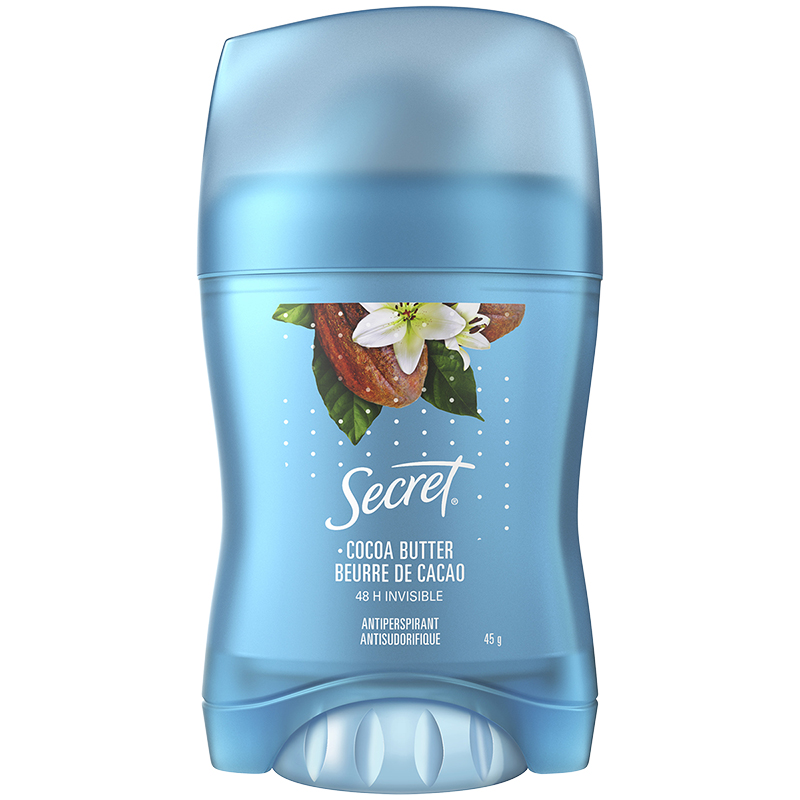 Secret Scent Expressions Invisible Anti-perspirant - Coco Butter Kiss - 45g