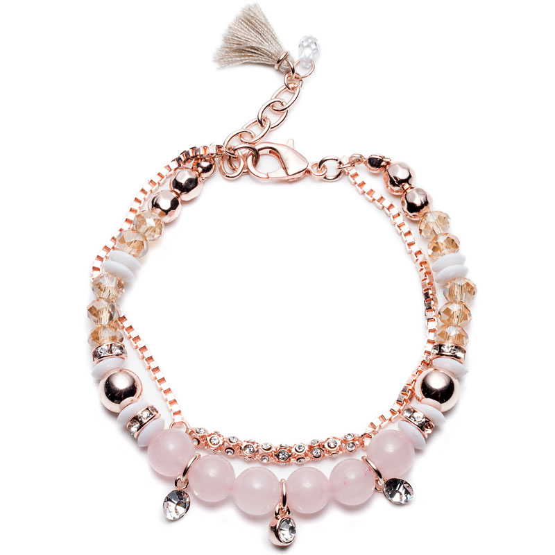 Lonna & Lilly Bead Bracelet - Rose Gold