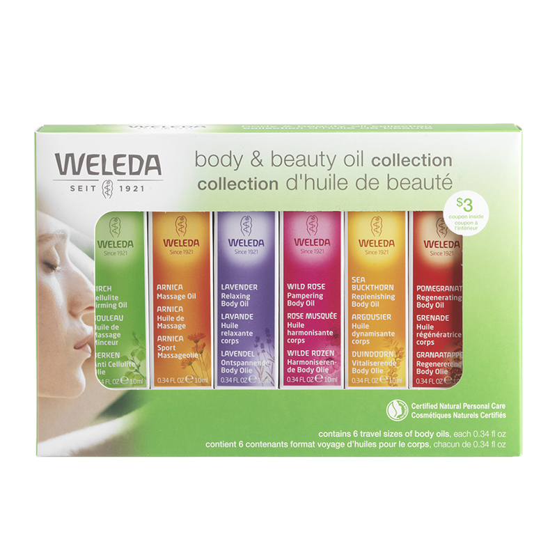 Weleda Body Oil Starter Kit - 6 piece