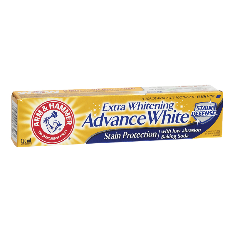 Arm & Hammer Extra Whitening Advance White Stain Protection Toothpaste - 120ml