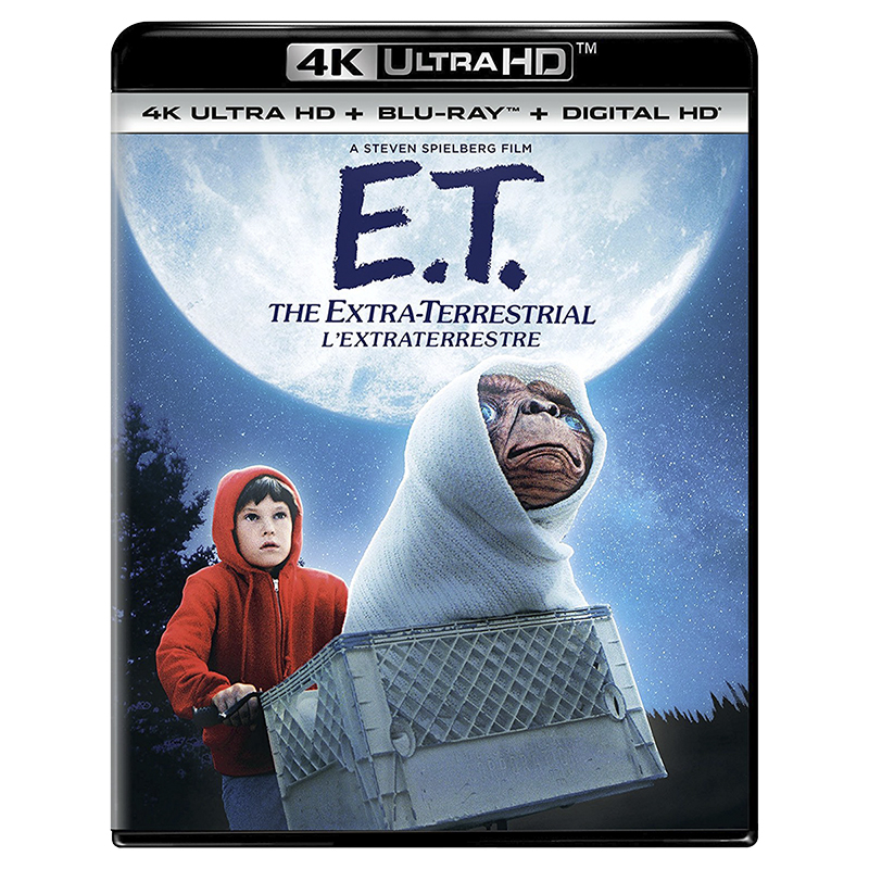 E.T. the Extra-Terrestrial - 4K UHD Blu-ray