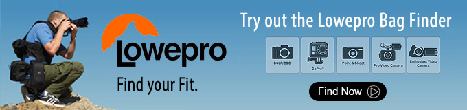 Lowepro Bag Finder