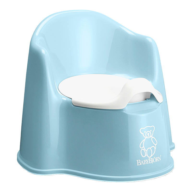 BabyBjorn Potty Chair - Turquoise - 055113US