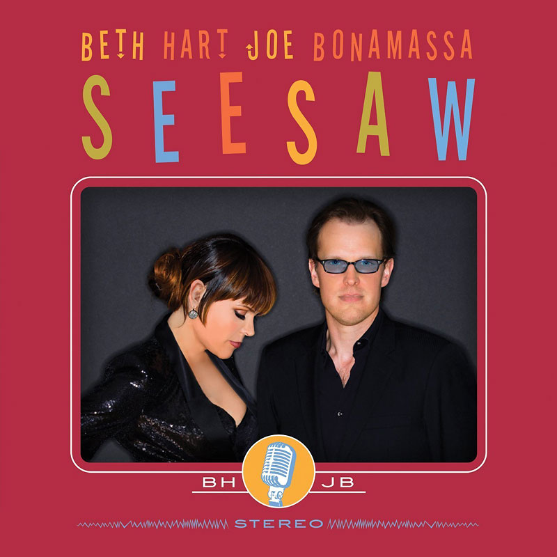 Beth Hart and Joe Bonamassa - Seesaw - CD