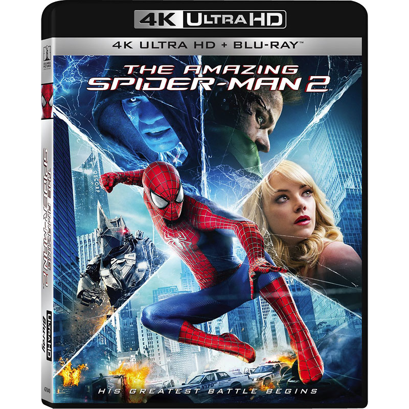 The Amazing Spider-Man 2 - 4K UHD Blu-ray