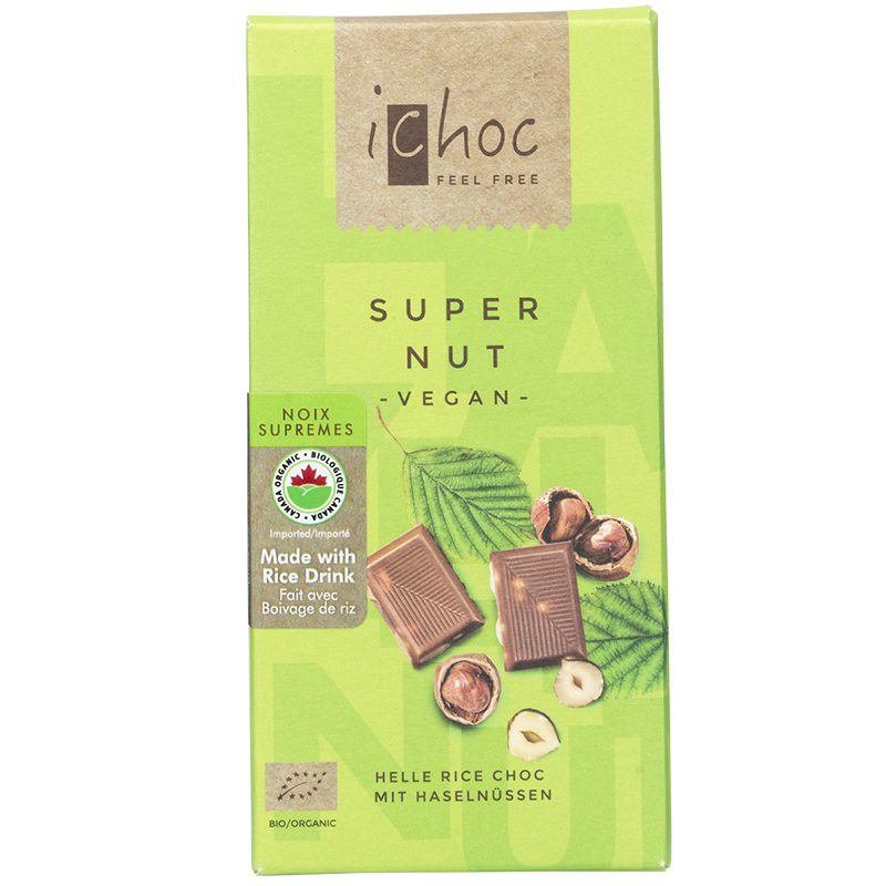 iChoc Chocolate Bar - Super Nut - 80g