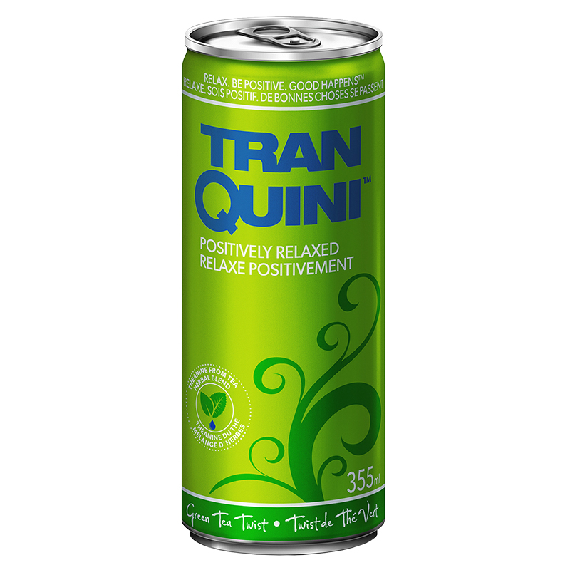 Tranquini - Green Tea Twist - 355ml