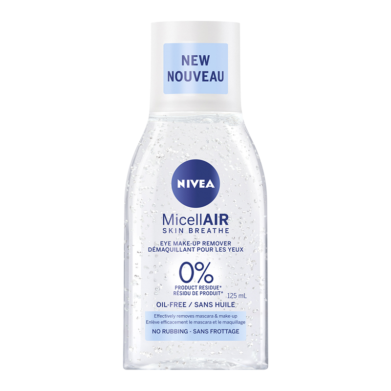 Nivea MicellAIR Skin Breath Eye Make-Up Remover - Oil Free - 125ml