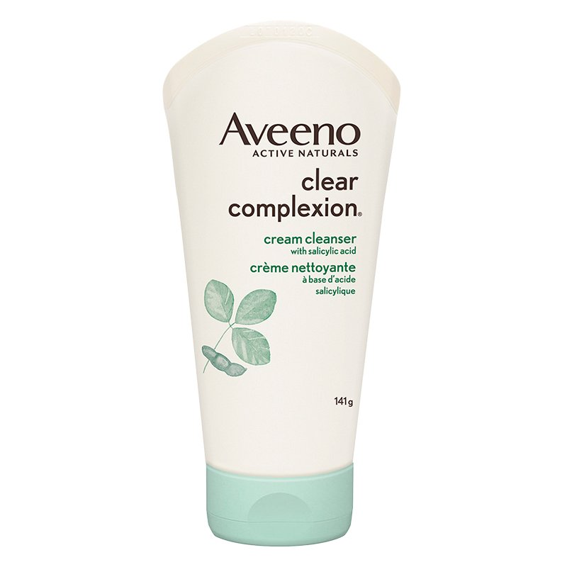 Aveeno Clear Complexion Cream Cleanser - 141g
