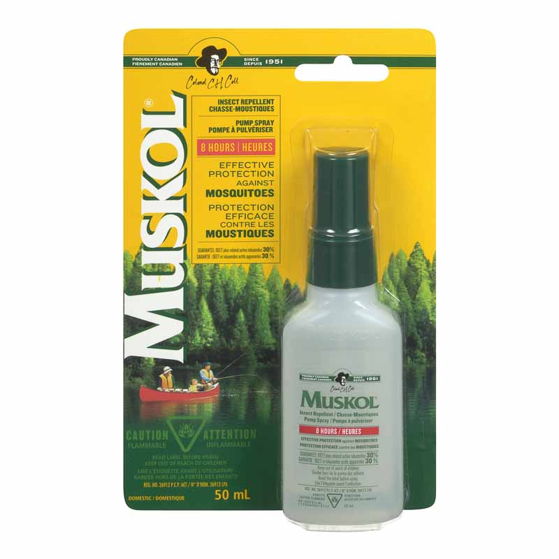 Muskol Insect Repellent Pump Spray - 50ml