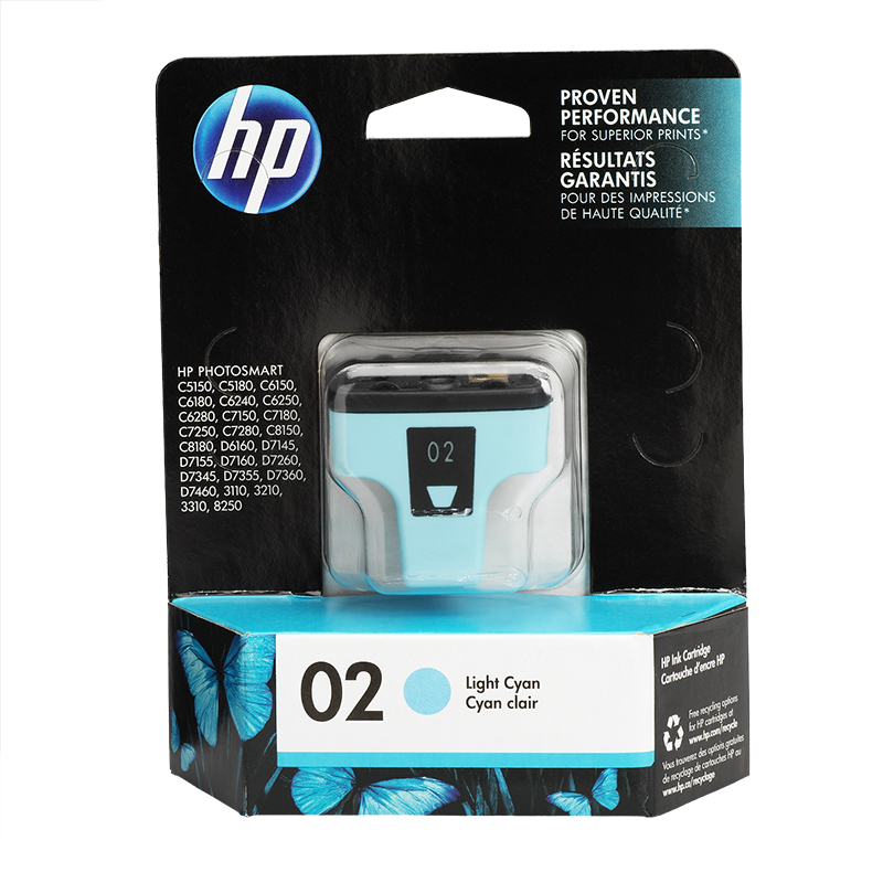 HP 2 Vivera Ink Cartridge - Light Cyan - C8774WN#140
