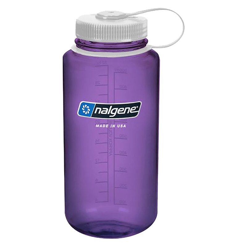 Nalgene Wide Mouth Bottle - Purple - 1L