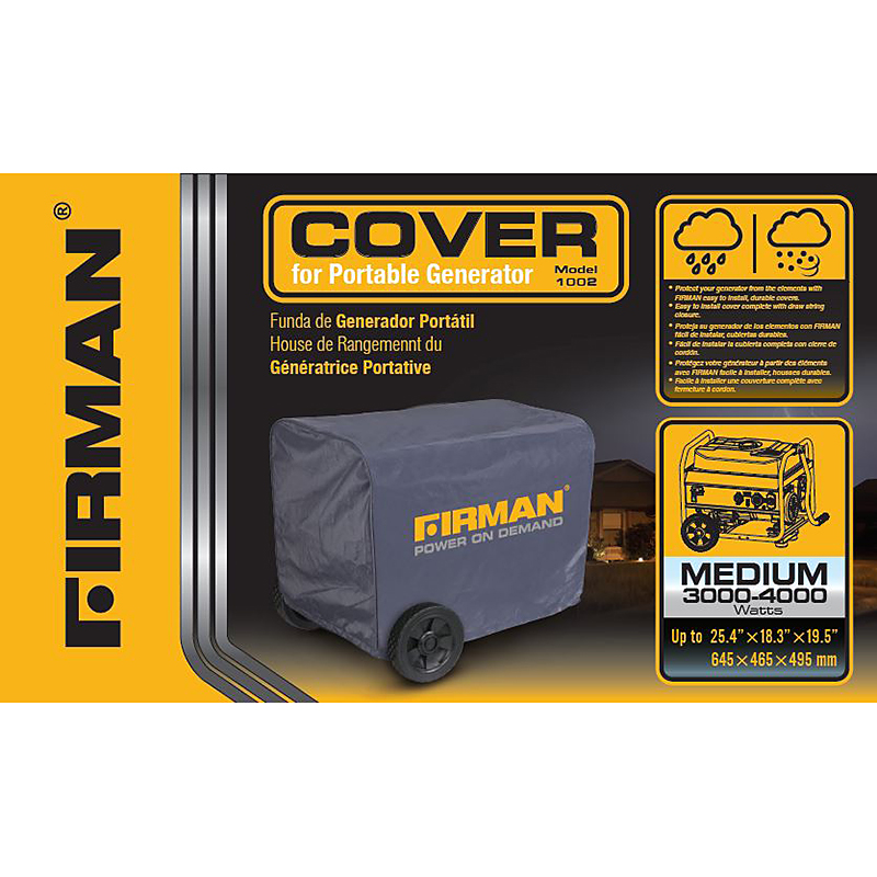 Firman Generator Cover - Medium - 1002