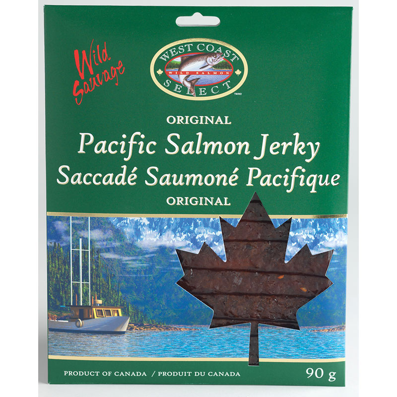 West Coast Select Pacific Salmon Jerky - Original - 90g