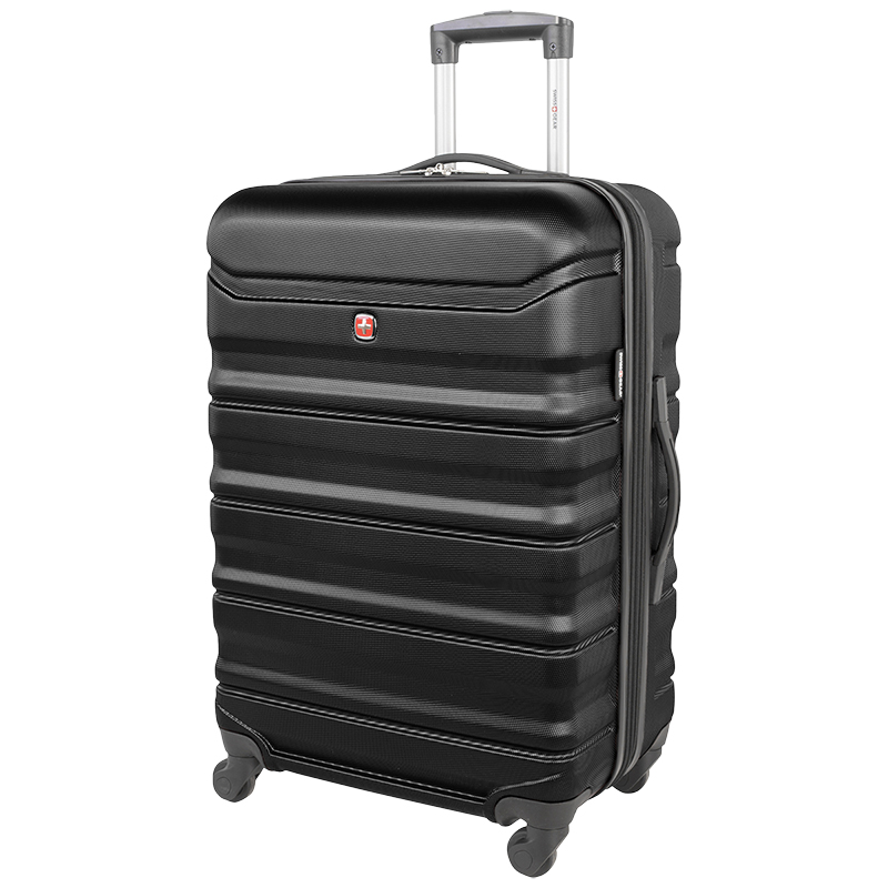 "Swissgear Chic Lite Expandable Spinner Luggage - 24"" - Black"