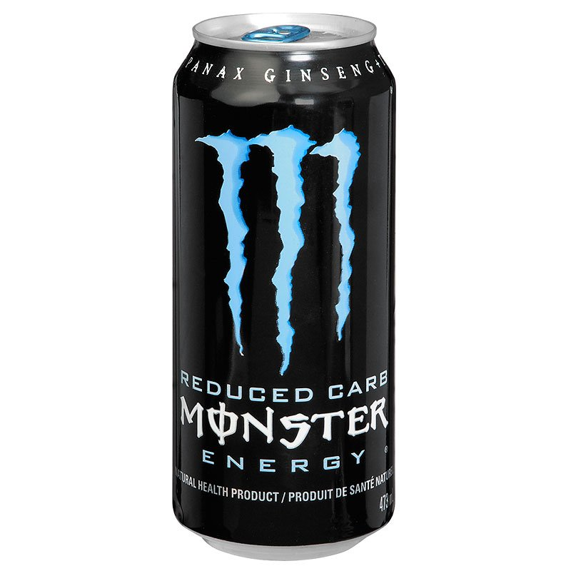 Monster Energy Drink Reduced Carb - 473ml