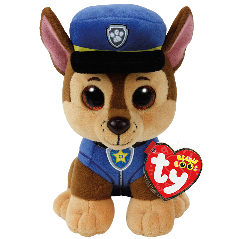 TY Paw Patrol Beanie Boos - Shepard Chase