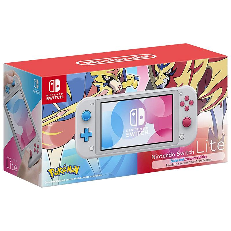 Nintendo Switch Lite Zacian And Zamazenta Edition Hdhsgbzaa