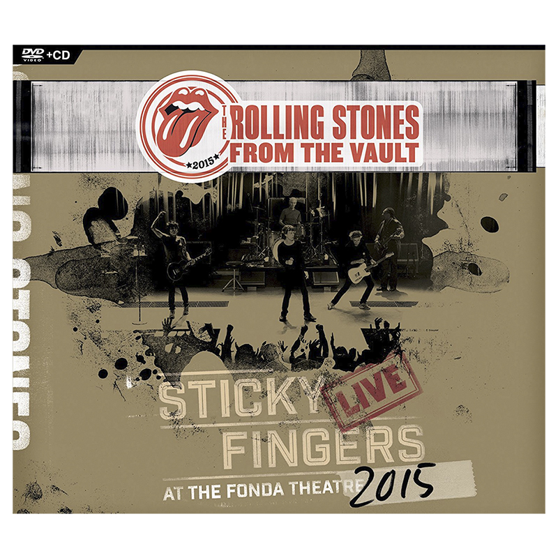 The Rolling Stones: Sticky Fingers Live at the Fonda Theatre 2015 - DVD + CD