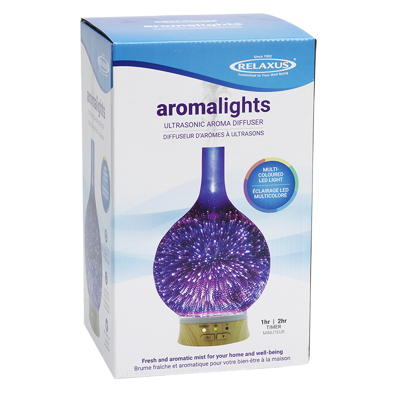 Relaxus Aroma Lights Ultrasonic Aroma Diffuser - 517211