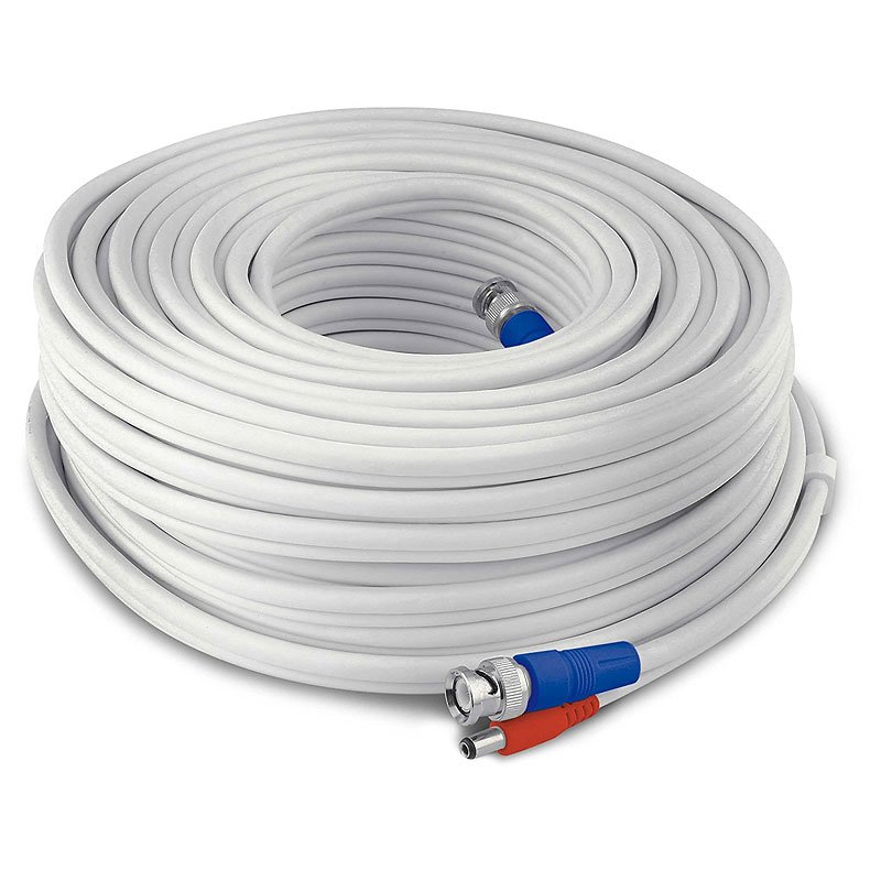 Swann 30m Fire Rated Cable - White - SWPRO-30MTVF-GL