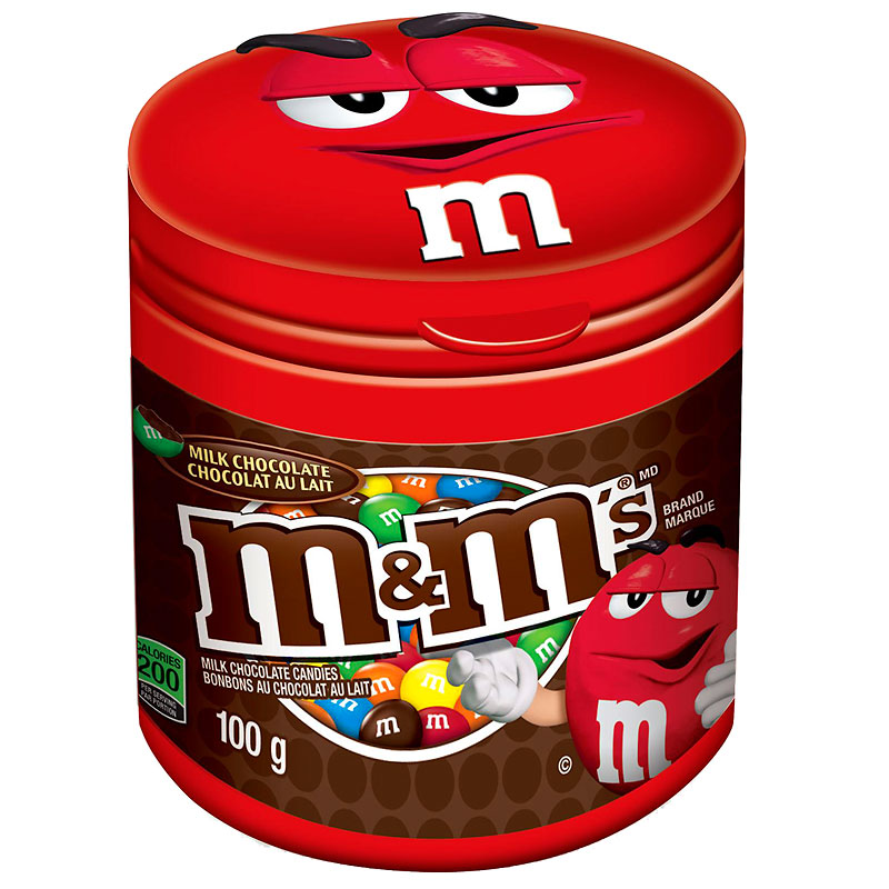 M&M's Milk Chocolate Bottle - 100g