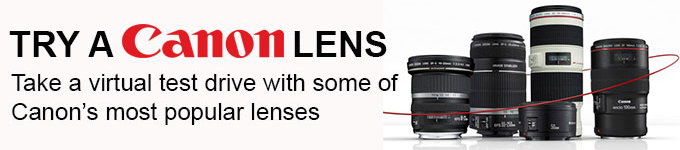 Try A Canon Lens
