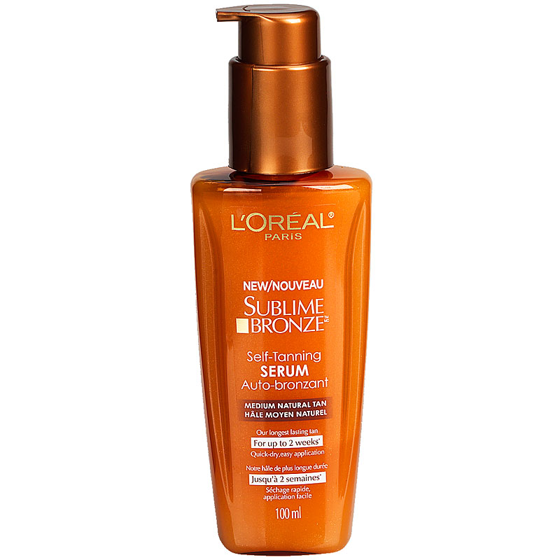 L'Oreal Sublime Bronze Self Tanning Serum - 100ml