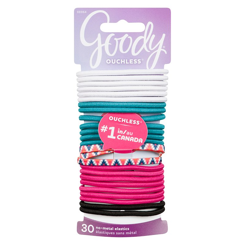 Goody Ouchless Elastics - Spring - 08964