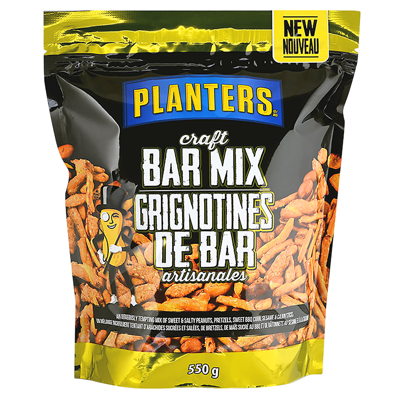 Planters Craft Bar Mix - 550g