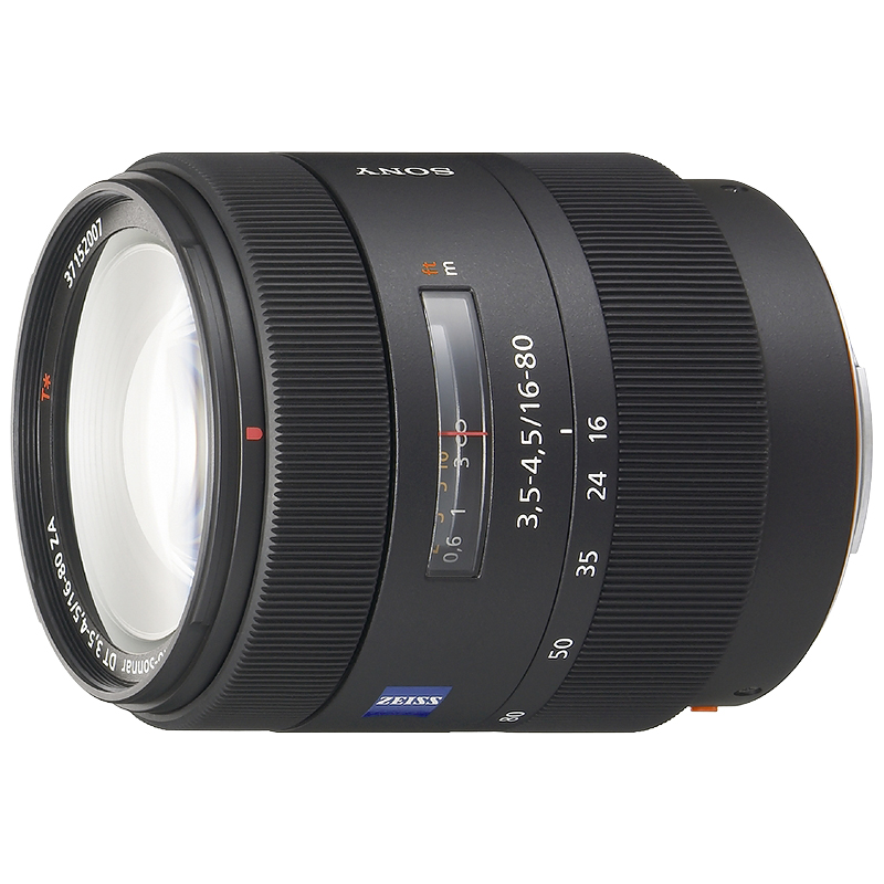 Sony Carl Zeiss Vario-Sonnar T* DT 16-80mm f/3.5-4.5 ZA Lens - SAL1680Z - Open Box Display Model