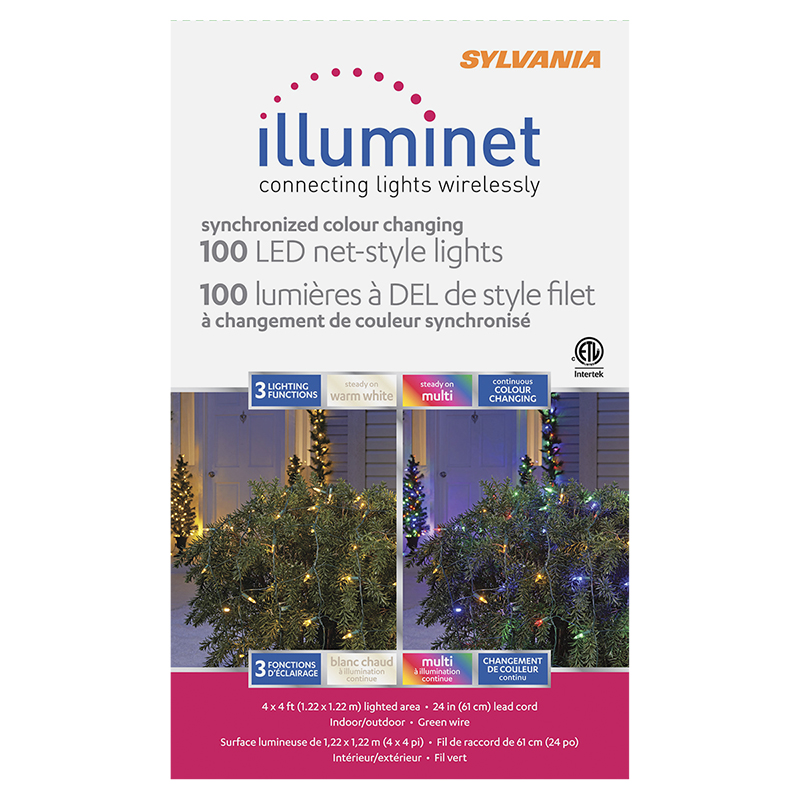 Sylvania Illuminet LED Mini Indoor/Outdoor Net Lights