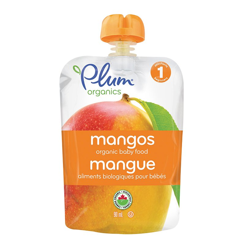 Plum Organics - Just Mangos - 90ml