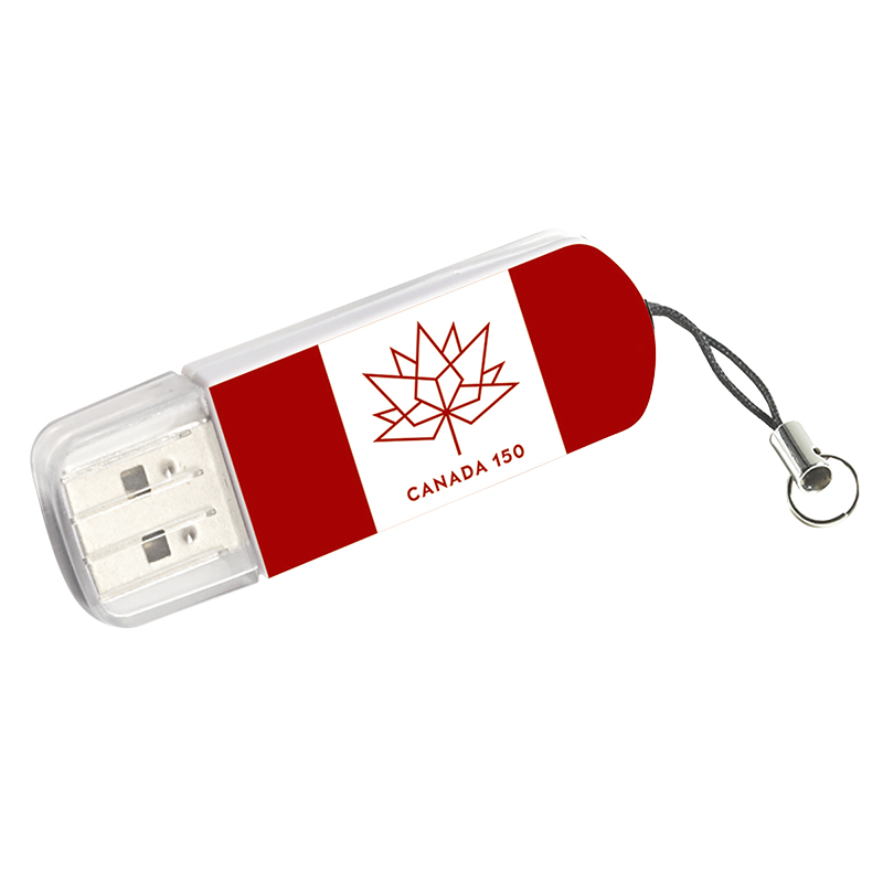 Verbatim 64GB Canada 150th Anniversary Mini USB Flash Drive