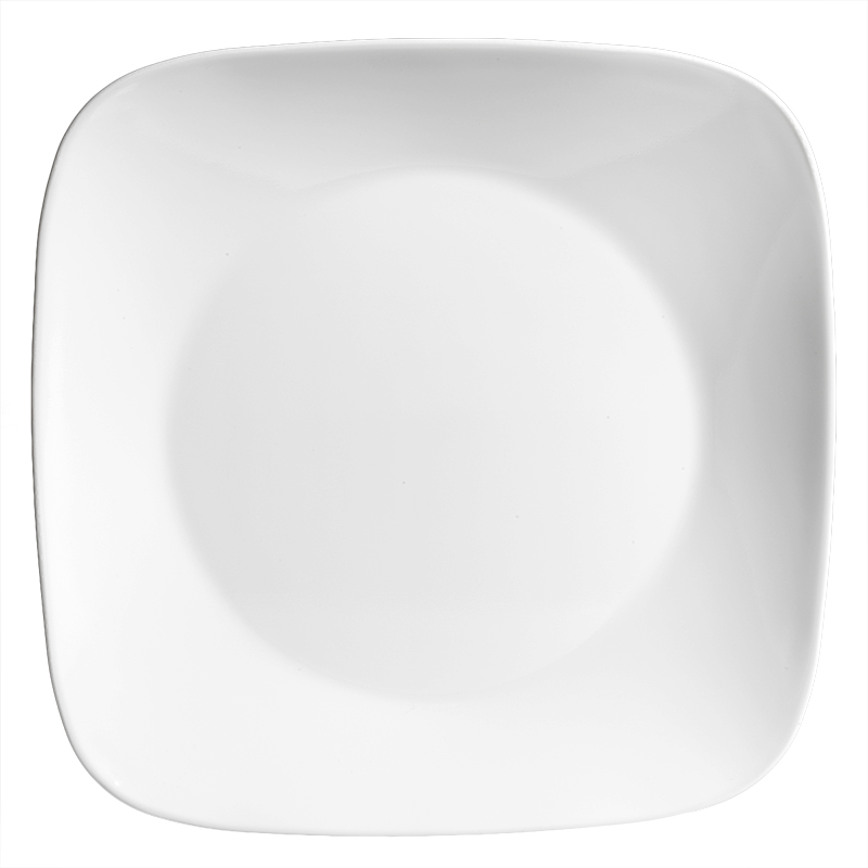 Corelle Square Pure White Dinner Plate - 10.25inch
