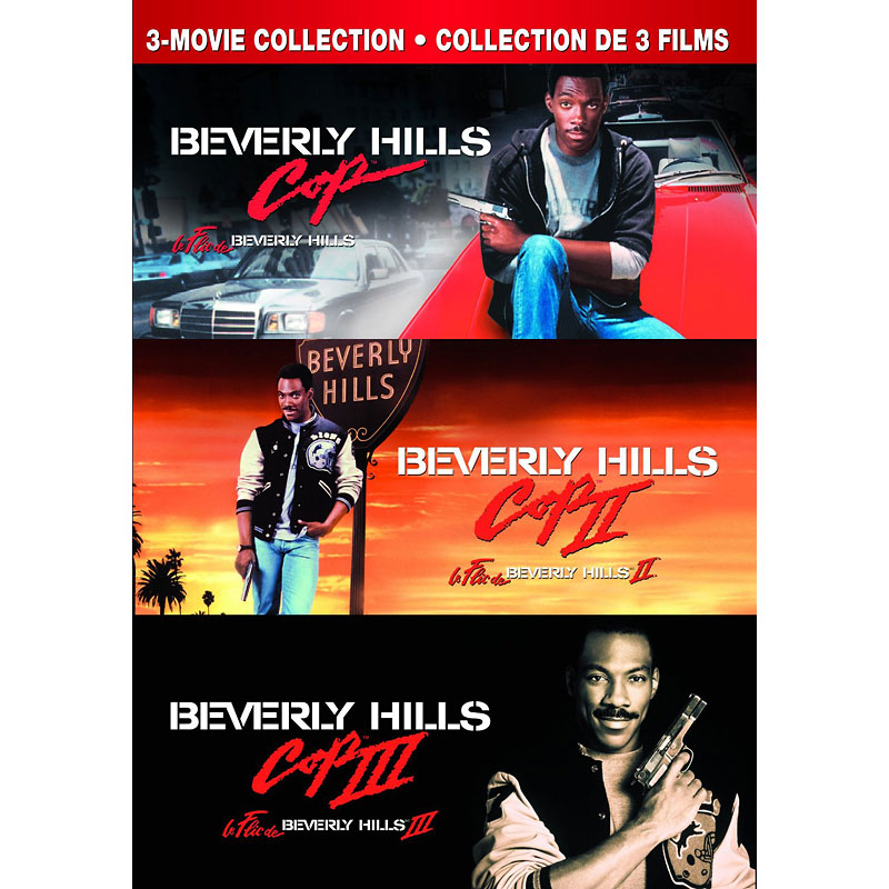 Beverly Hills Cop - 3 Movie Collection - DVD