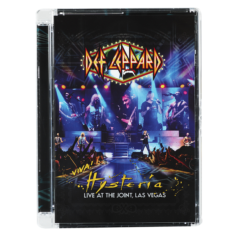 Def Leppard - Viva! Hysteria Live At The Joint Las Vegas - DVD