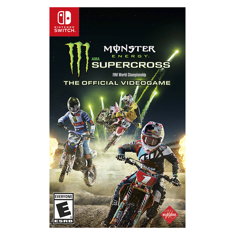 Nintendo Switch Monster Energy Supercross - The Official Videogame