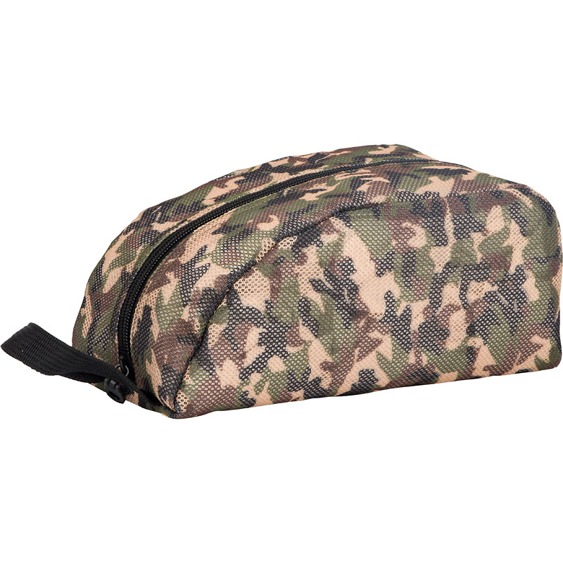 Modella Men's Mesh Camo Travel Pouch - M000104LDC