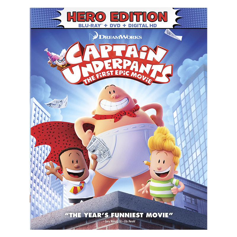 Captain Underpants: The First Epic Movie - Blu-ray