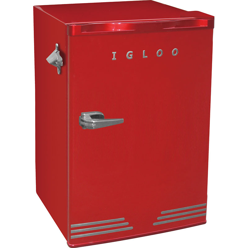 Igloo retro 3.2 cu.ft fridge