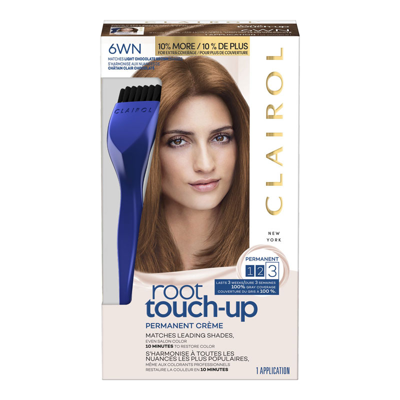 Clairol Nice \'N Easy Root Touch Up - 6WN Light Chocolate Brown ...