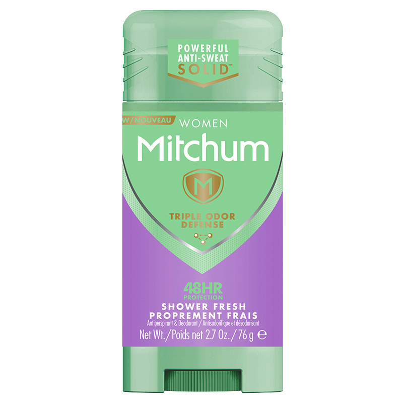 Mitchum Women's Advanced Invisible Solid Antiperspirant - Shower Fresh - 76g