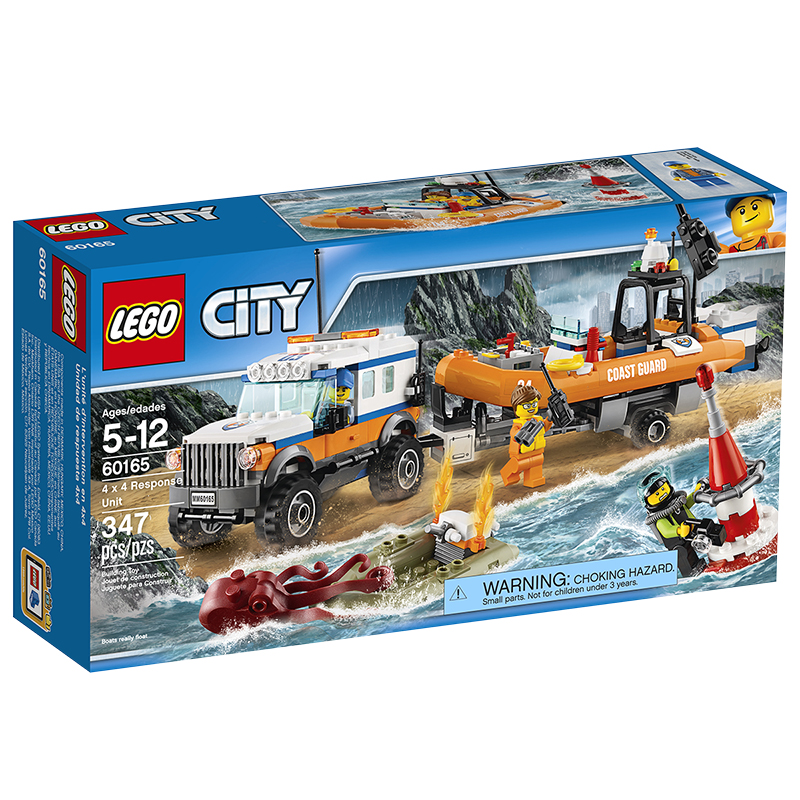 LEGO® City - 4x4 Response Unit