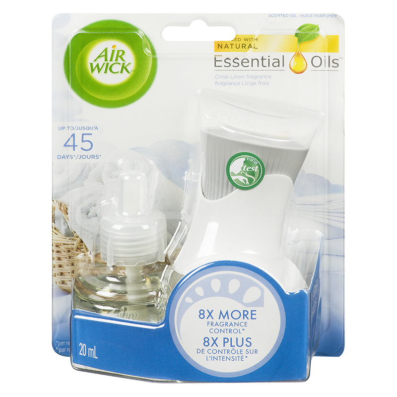 Air Wick Scented Oil Kit - Crisp Linen - 1 unit