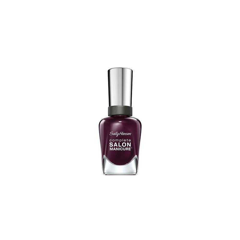 Sally Hansen Complete Salon Manicure Nail Polish - Pat on the Black