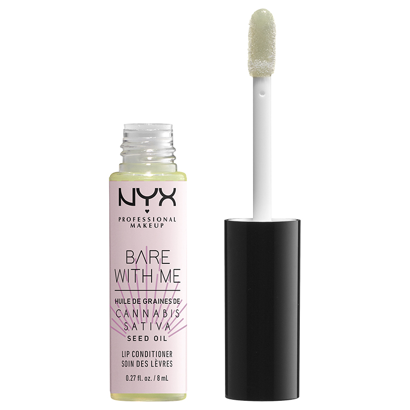 NYX Professional Makeup Bare With Me Cannabis Sativa Seed Oil Lip Conditioner - Clear