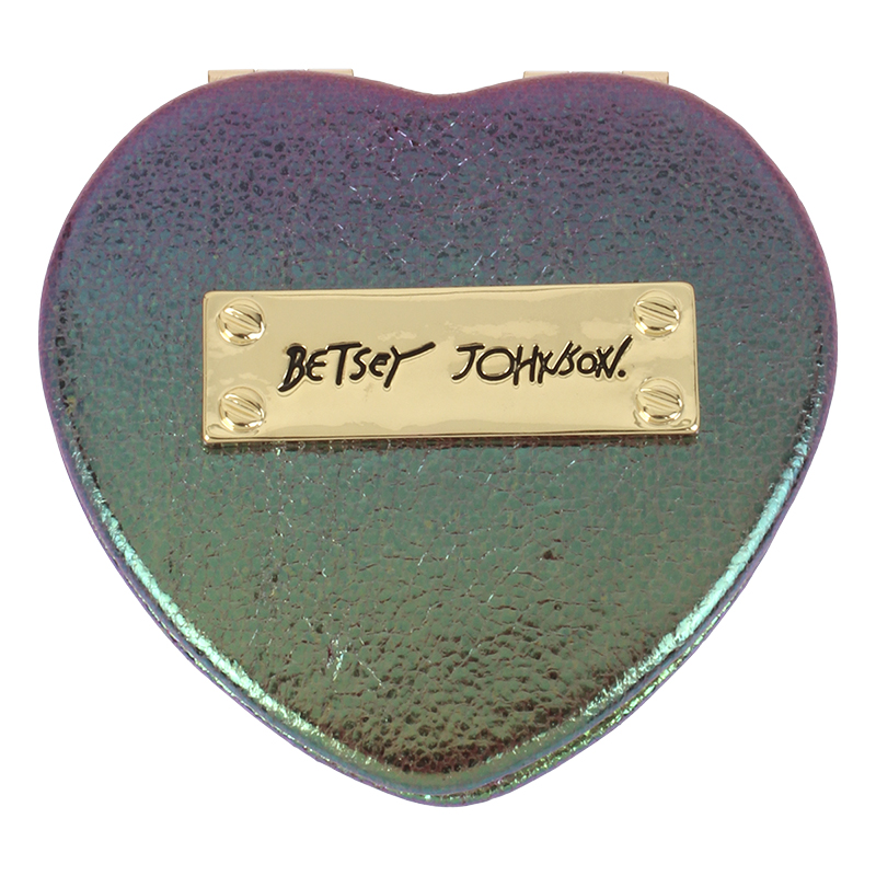 Betsey Johnson Oilslick Compact Mirror