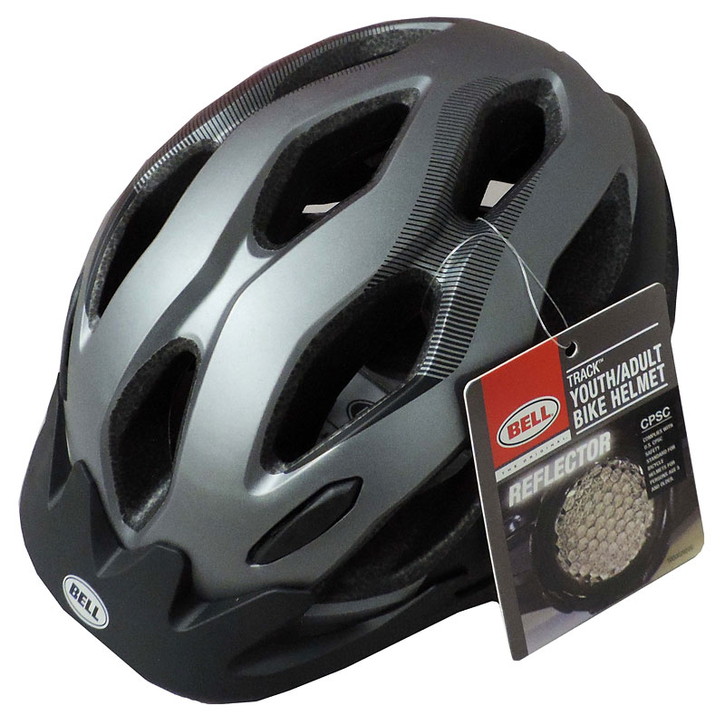 Bell Bicycle Helmet - Grey - Adjustable